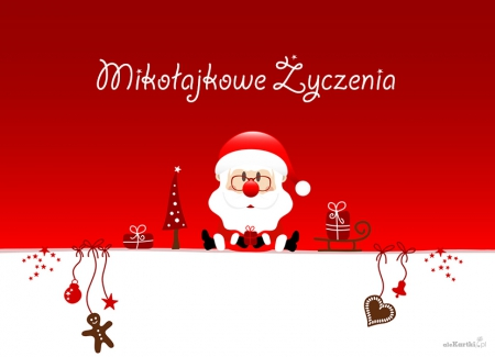 Życzenia z okazji Mikołajek